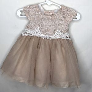 (2for20) Rare Editions Formal Sparkly Tulle Dress